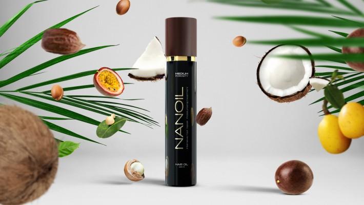 Запознайте се с NANOIL - най-доброто масло за стилизиране и защита на косата